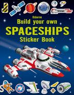 Build Your Own Spaceships Sticker Book Paperback  by Simon Tudhope