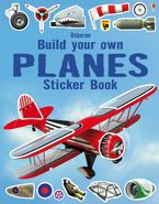 Build Your Own/Build Your Own Planes Sticker Book Paperback  by Simon Tudhope