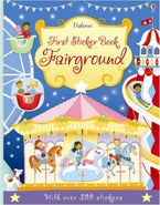 First Sticker Book Fairground Paperback  by Jessica Greenwell