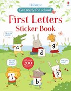 Get Ready For School First Alphabet Sticker Book Paperback  by Jessica Greenwell