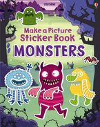 Felicity Brooks - Make a Picture Sticker Book Monsters