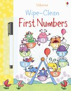 Wipe-Clean First Numbers Paperback  by Jessica Greenwell