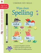 Wipe-Clean Spelling 5-6 Paperback  by Jane Bingham