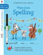 Wipe-Clean Spelling 7-8 Paperback  by Jane Bingham
