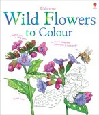 Wild Flowers To Colour Paperback  by Susan Meredith