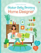 Sticker Dolly Dressing Home Designer Paperback  by Emily Bone