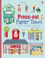 Press-Out Paper Town Paperback  by Fiona Watt