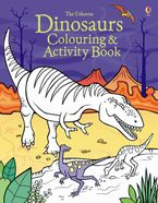 Dinosaurs Colouring And Activity Book Paperback  by Kirsteen Rogers