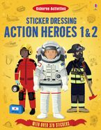 Sticker Dressing/Action Heroes 1 & 2 Paperback  by MEGAN CULLIS
