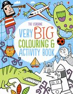 Very Big Colouring And Activity Book Paperback  by Kirsteen Robson