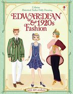 Sticker Dolly Dressing/Historical Edwardian And 1920s Clothes And Paperback  by Emily Bone