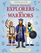 Sticker Dressing/Explorers And Warriors Paperback  by USBORNE