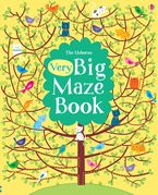 VERY BIG MAZE BOOK Paperback  by USBORNE