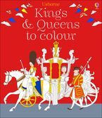 Kings And Queens Colouring Book Paperback  by RUTH BROCKLEHURST
