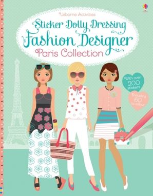 Sticker Dolly Dressing Fashion Designer Paris Collection - Fiona Watt
