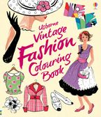 Vintage Fashion To Colour Paperback  by RUTH BROCKLEHURST