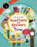 LIFT THE FLAP QUESTIONS AND ANSWERS ABOUT TIME Paperback  by Katie Daynes