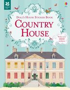 Country House Doll's House Sticker Paperback  by MEGAN CULLIS