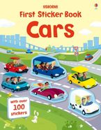First Sticker Book Cars Paperback  by Simon Tudhope