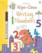 WIPLE-CLEAN WRITING NUMBERS Paperback  by Jessica Greenwell