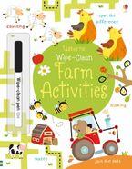 Wipe-Clean Farm Activities/Wipe-Clean Paperback  by Kirsteen Robson