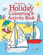 Holiday Colouring And Activity Book Paperback  by Kirsteen Robson
