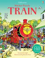 STICKER PUZZLE TRAIN Paperback  by Various