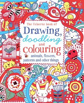 Drawing Doodling And Colouring Animals Flowers Patterns And Other Things