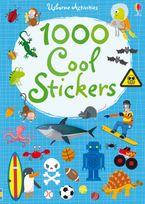 1000 Cool Stickers Paperback  by Fiona Watt
