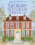GEORGIAN DOLLS HOUSE STICKER BOOK Paperback  by Abigail Wheatley