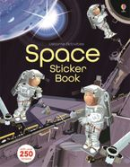 Space Sticker Book Paperback  by Fiona Watt