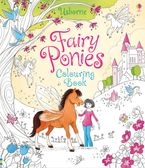Fairy Ponies Colouring Book Paperback  by USBORNE