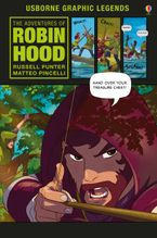 THE ADVENTURES OF ROBIN HOOD Hardcover  by Russell Punter