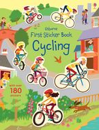 First Sticker Book Cycling Paperback  by Jessica Greenwell
