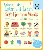 Listen and Learn First German Words Hardcover  by MAIRI MACKINNON