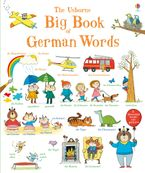Big Book of German Words Paperback  by MAIRI MACKINNON