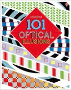101 OPTICAL ILLUSIONS Hardcover  by Sam Taplin