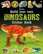 BUILD YOUR OWN DINOSAURS STICKER BOOK Paperback  by Simon Tudhope