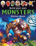 Build Your Own Monsters Sticker Book Paperback  by Simon Tudhope