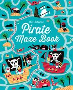 Pirate Maze Book - Kirsteen Robson