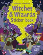 WITCHES AND WIZARDS STICKER BOOK Paperback  by Kirsteen Robson