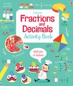 FRACTIONS AND DECIMALS Paperback  by Rosie Dickins
