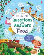 LIFT-THE-FLAP QUESTIONS AND ANSWERS ABOUT FOOD Paperback  by Katie Daynes