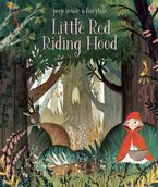 Peep Inside Little Red Riding Hood Hardcover  by Anna Milbourne