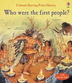 Who Were the First People? Hardcover  by Cox Phil Roxbee