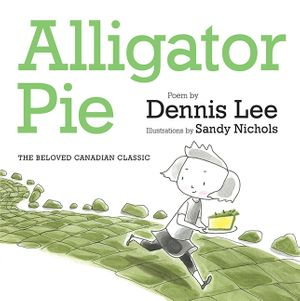 Alligator Pie Brd Bk book image