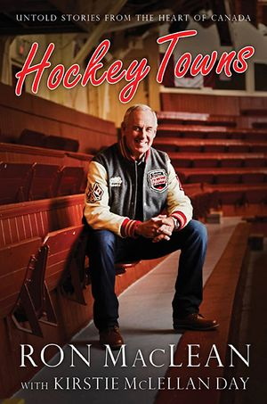 Hockey Towns book image