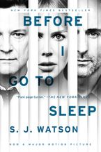Before I Go To Sleep Movie Tie In Paperback  by S. J. Watson