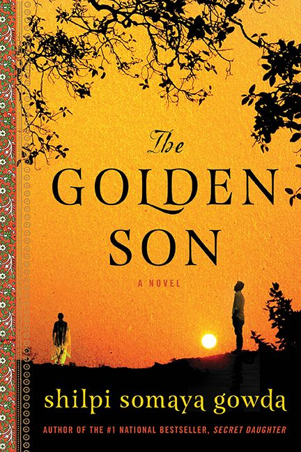 Simple Book Cover Uk : The golden son shilpi somaya gowda hardcover