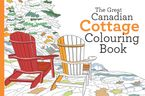 Great Canadian Cottage Colouring Book Paperback  by Paul Covello